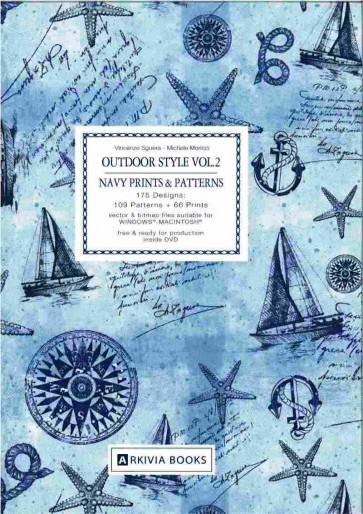 OUTDOOR STYLE - NAVY PRINTS & PATTERN Vol. 02