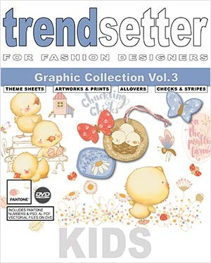 TRENDSETTER KIDS GRAPHIC COLLECTION Vol.3