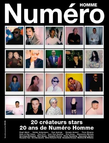RIVISTA-NUMERO-HOMME-40-AW-2021- ABBONAMENTO-ITALIA