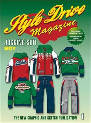 STYLE DRIVE MAGAZINE JOGGING SUIT N. 1 BOY (SENZA CD)