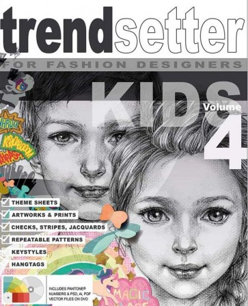 TRENDSETTER KIDS GRAPHIC COLLECTION Vol.4