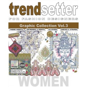 TRENDSETTER WOMEN GRAPHIC COLLECTIONS Vol.3
