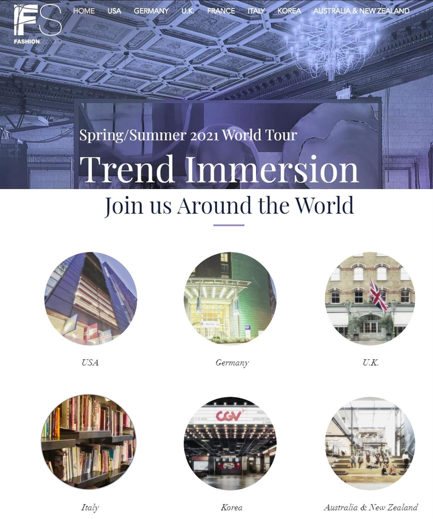 TREND IMMERSION DAY SPRING/SUMMER 2021 FASHIONSNOOPS WORLD TOUR